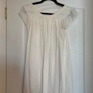 Aritzia talula off-the-shoulder peasant blouse